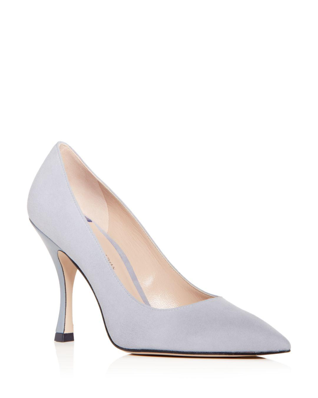 845965a597 Stuart Weitzman. Women's Tippi Suede Pointed Toe Court Shoes