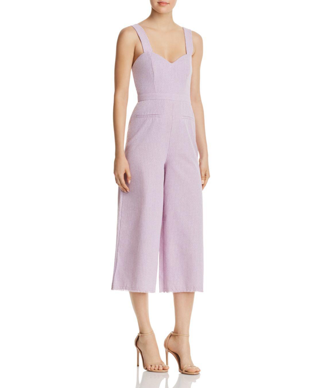 1da0b566315 The East Order Portia Crop Jumpsuit in Purple - Save ...