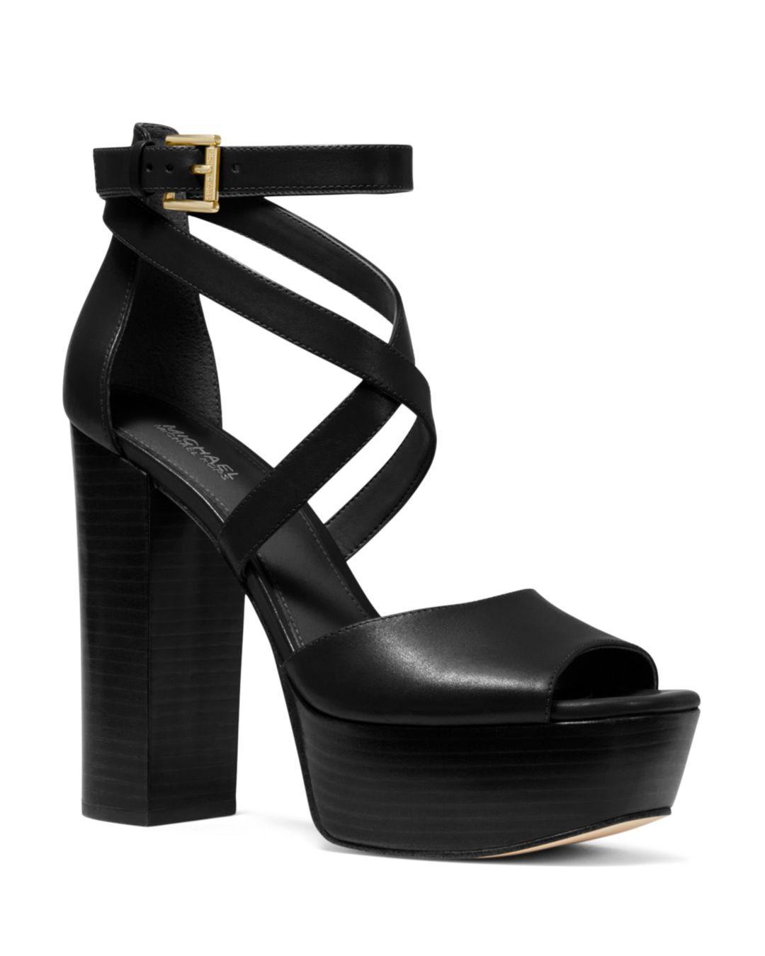 Burke Leather Platform Sandal