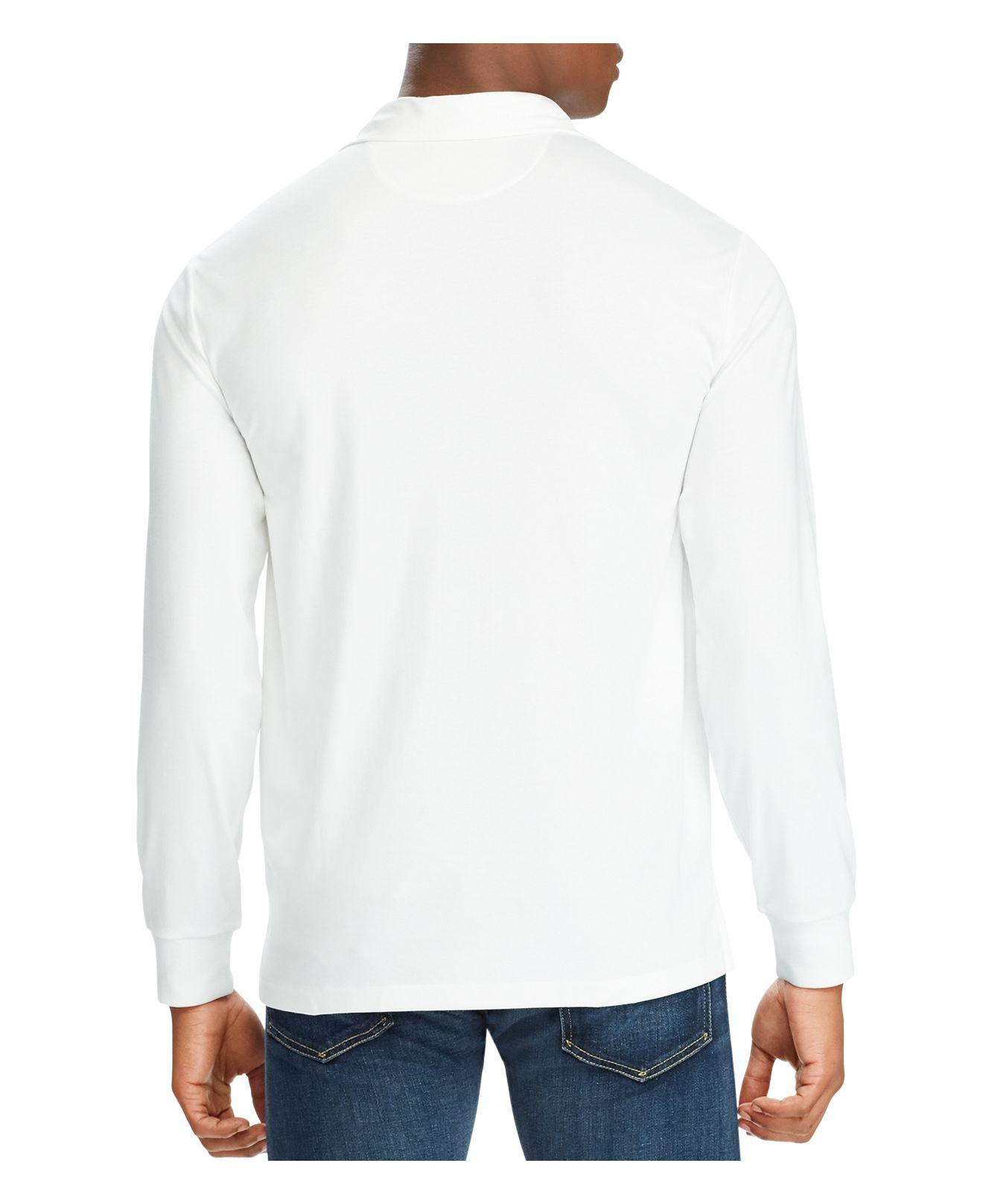 04a66103bc Lyst - Polo Ralph Lauren Classic Fit Soft-touch Long Sleeve Polo ...