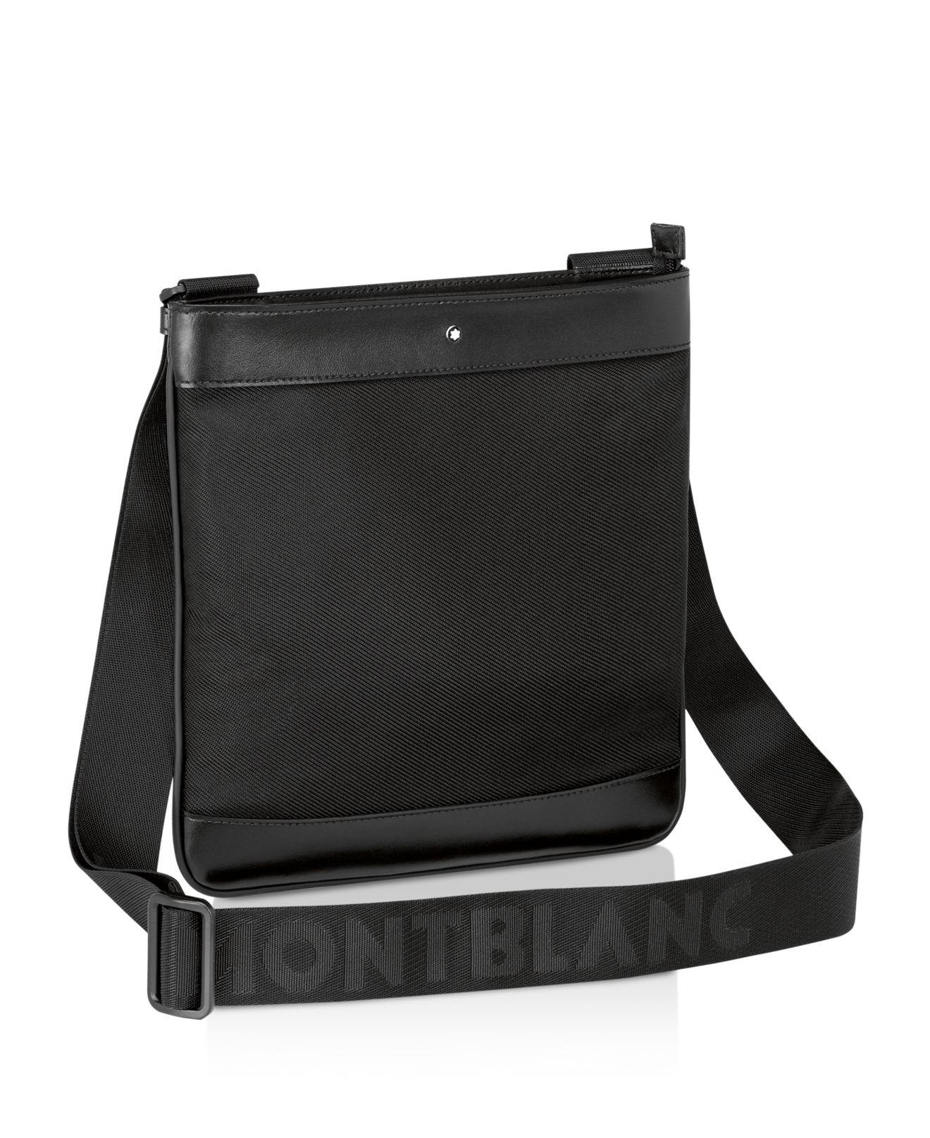 Montblanc Nightflight Envelope Crossbody Bag In Black Lyst