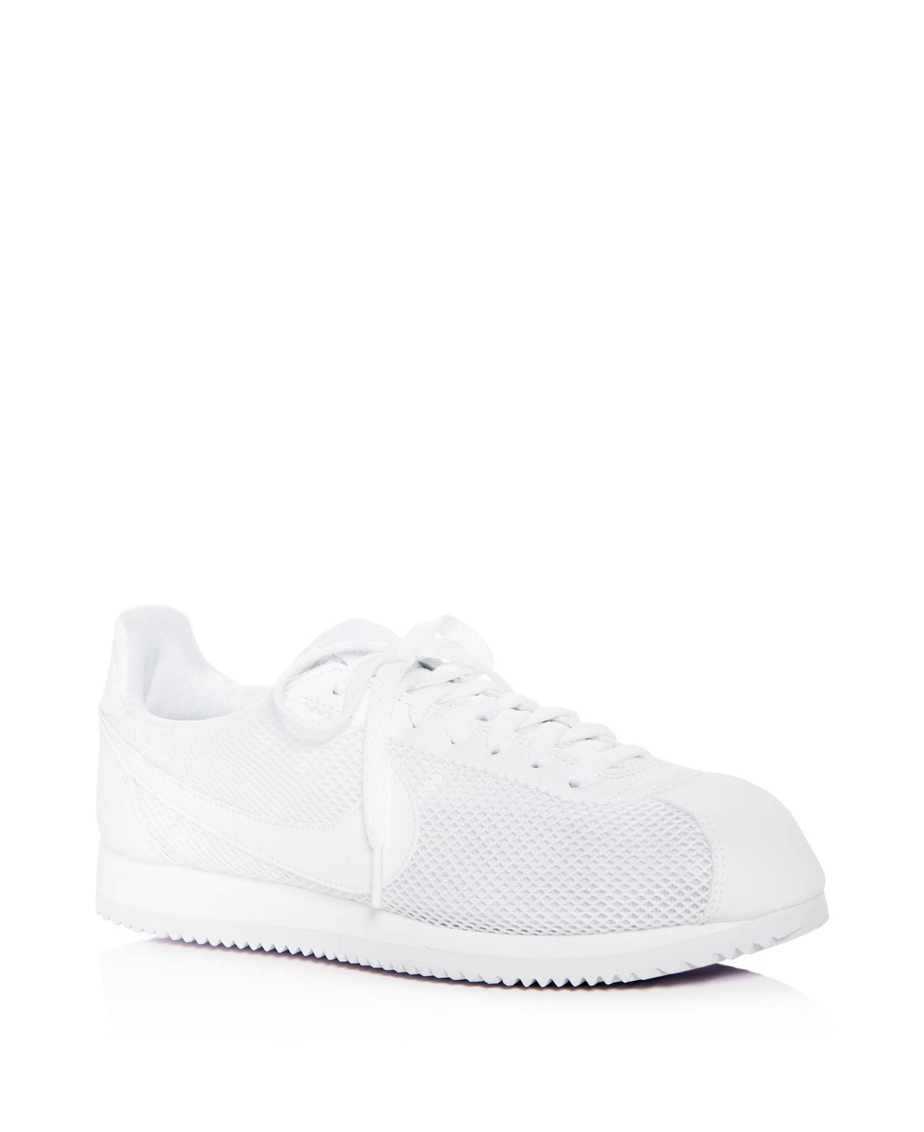Nike Women's Classic Cortez Mesh Lace Up Sneakers 2pbk1uB