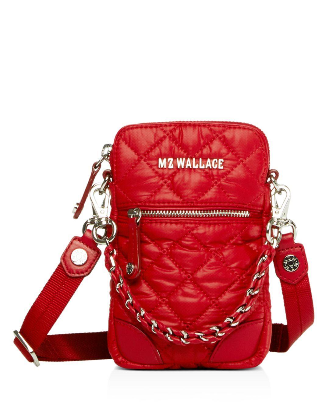 efd5975553f2 MZ Wallace - Red Micro Crosby Bag - Lyst. View fullscreen