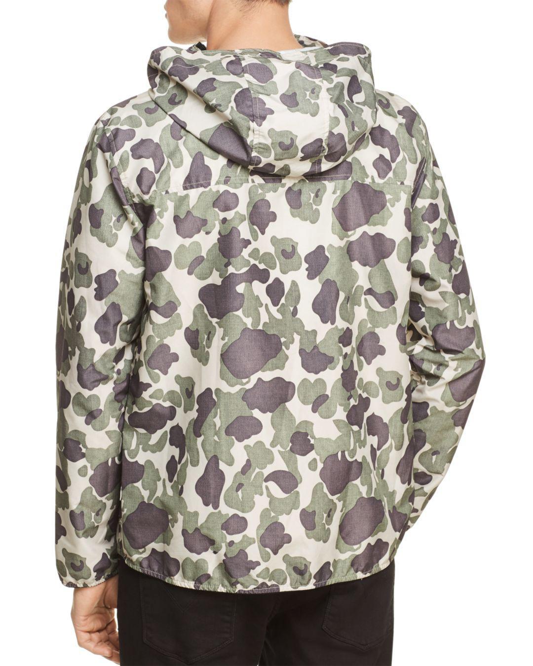 Herschel Supply Co. Voyage Camouflage Windbreaker Jacket for Men