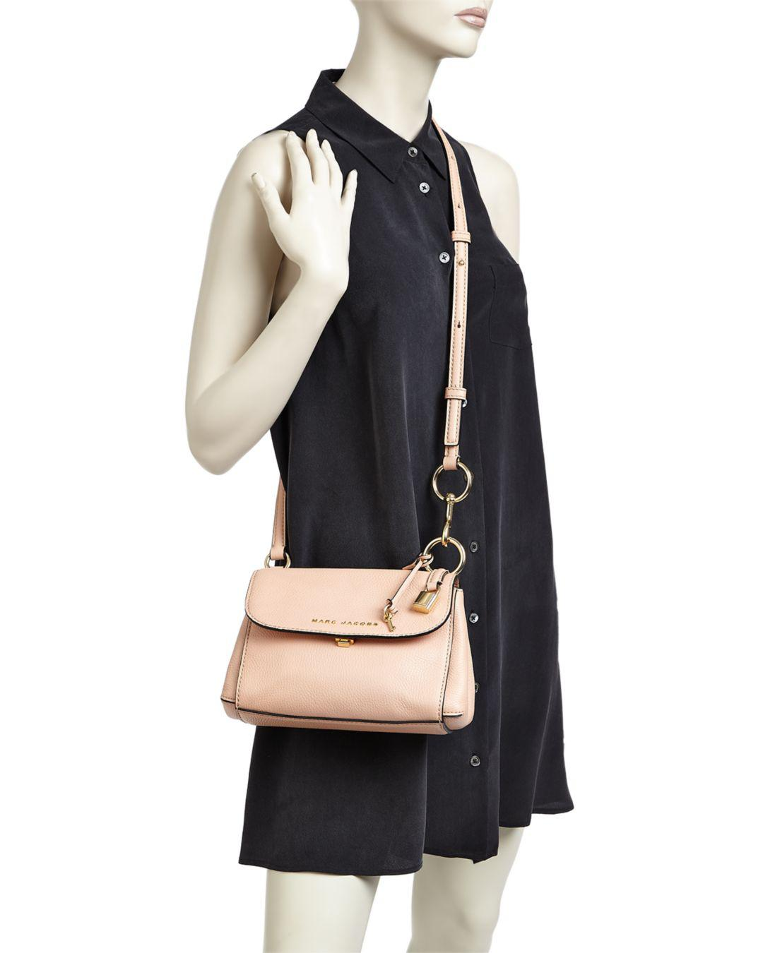 159412347d Marc Jacobs Mini Boho Grind Leather Crossbody in Pink - Lyst