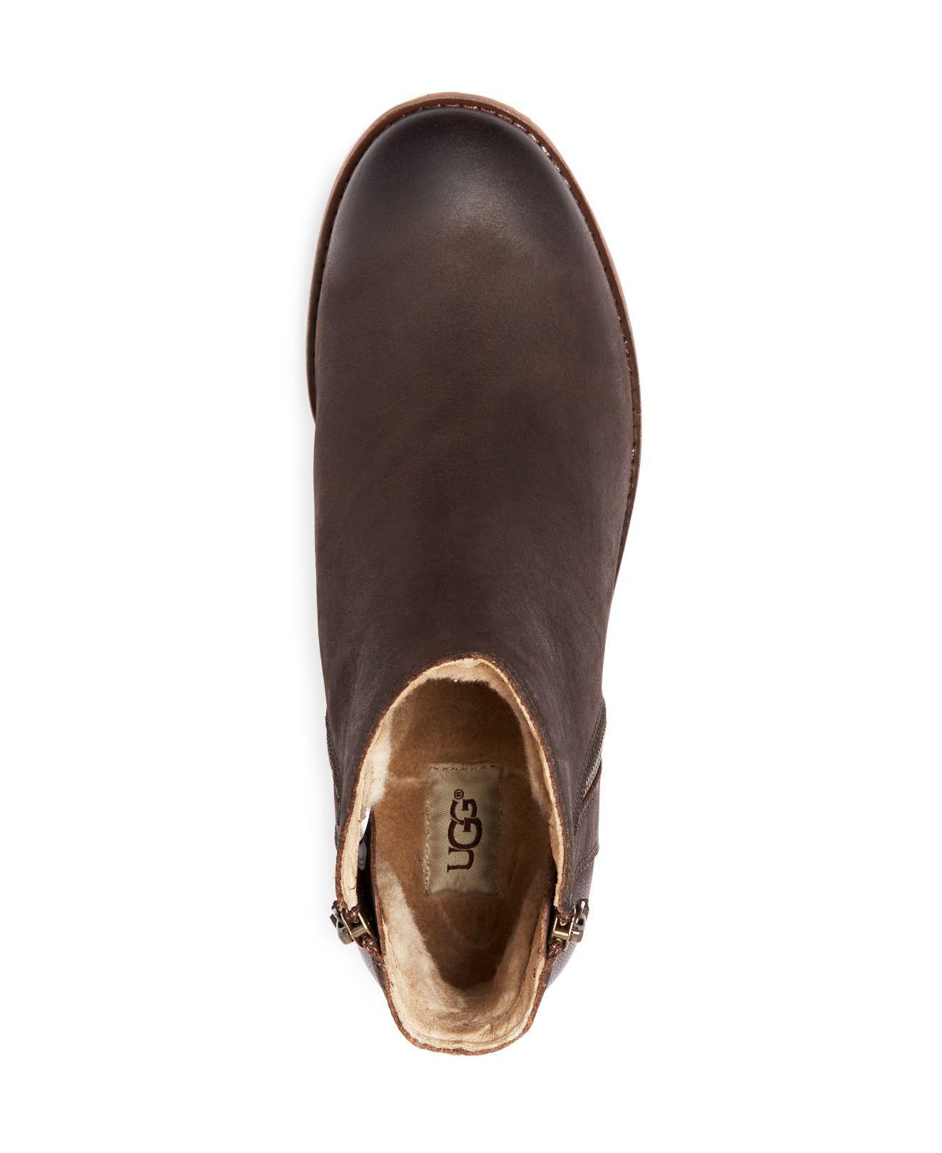 66704aae9eb Ugg Brown Greer Double Zip Desert Boots for men