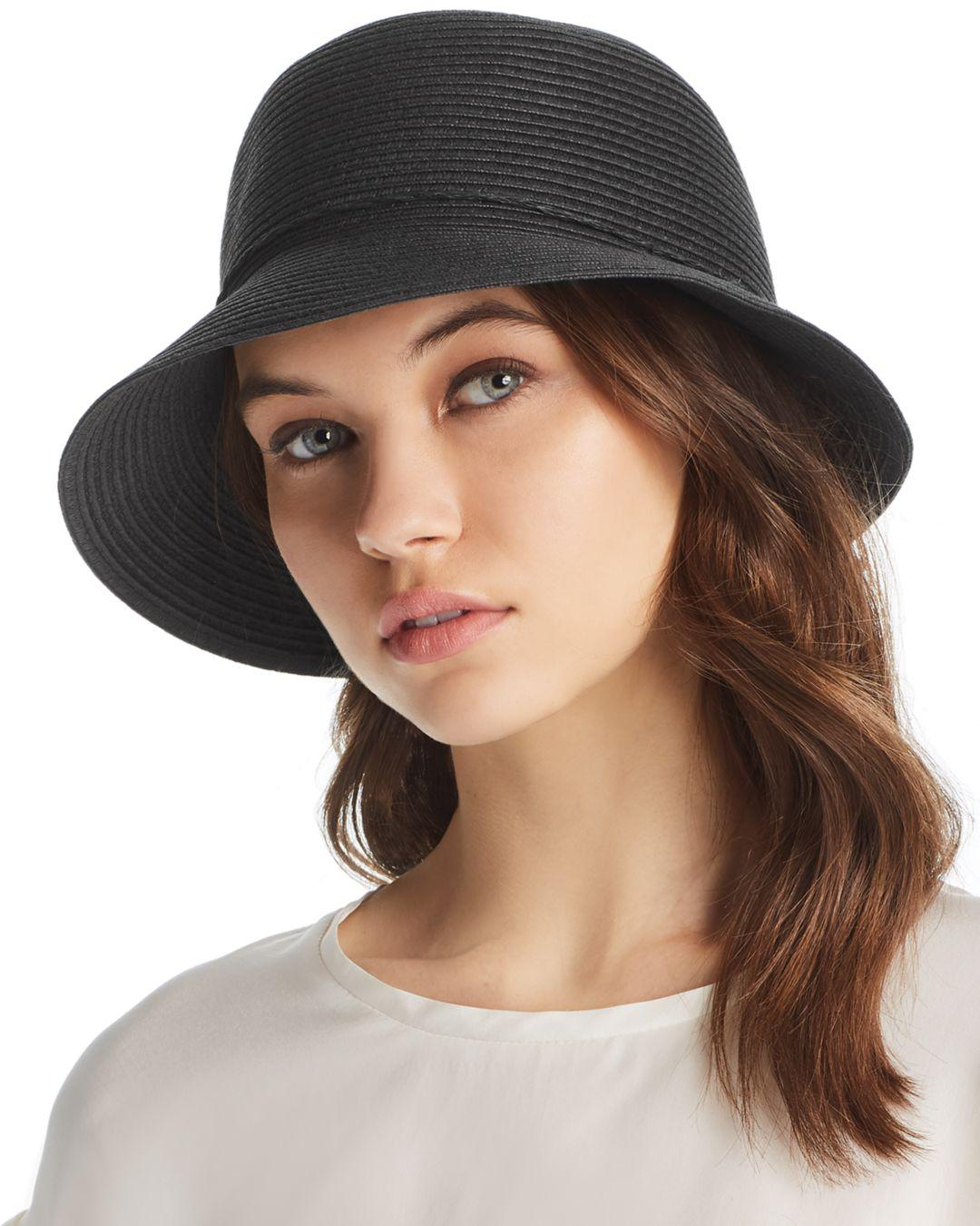 5b2f1746bac5e August Hat Company Forever Classic Cloche in Black - Lyst