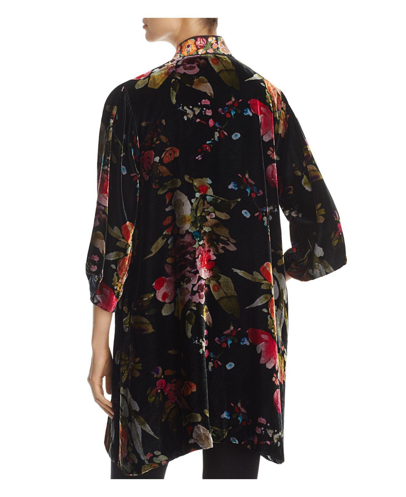 Lyst - Johnny was Kehlani Reversible Kimono Jacket in Black