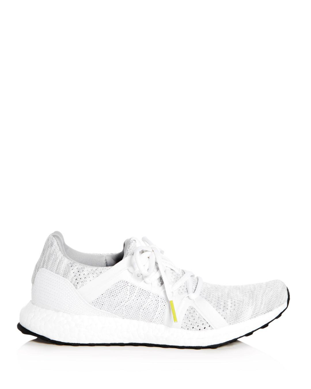 310083bc58e6b ... ireland lyst adidas by stella mccartney ultraboost parley knit lace up  sneakers in white 1fc33 f8f06