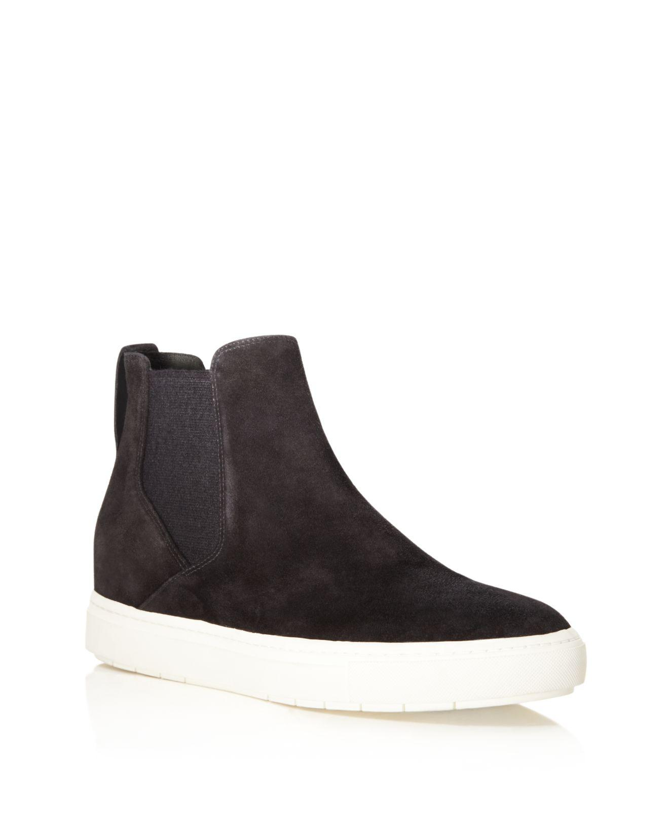 1581e68d3471 Lyst - Vince Newlyn High Top Slip On Sneakers in Black for Men