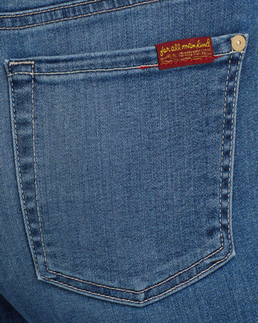 7 For All Mankind Denim B(air) The Ankle Skinny Jeans In Sunset in Blue