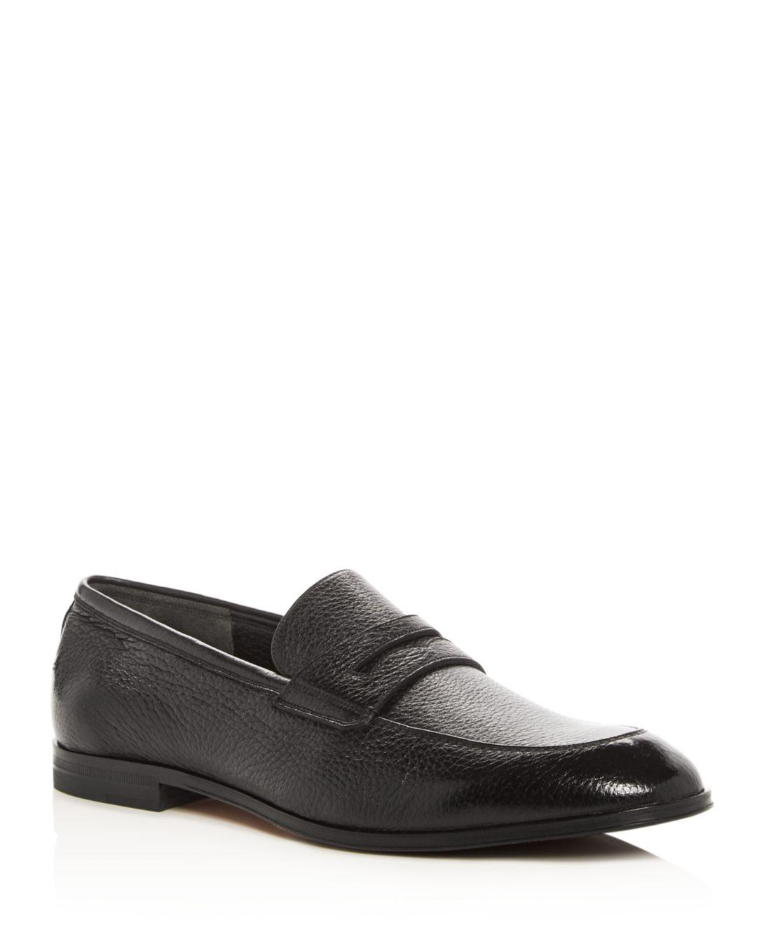 55de8338760 Bally - Black Men s Webb Leather Penny Loafers for Men - Lyst. View  fullscreen