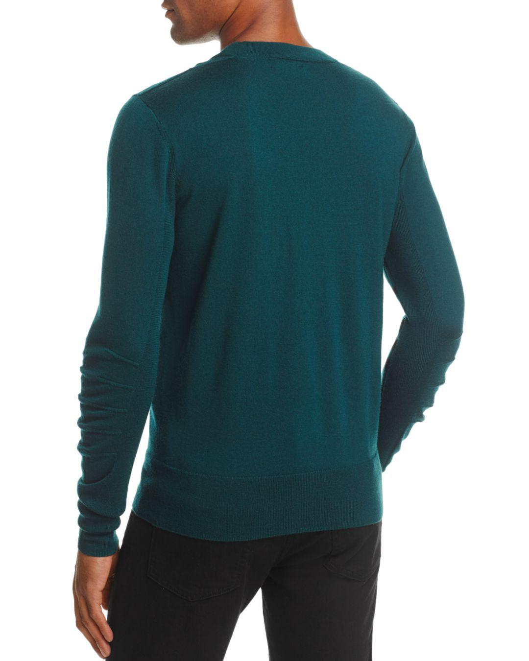 528bd7aaa Lyst - Burberry Carter Crewneck Sweater in Green for Men