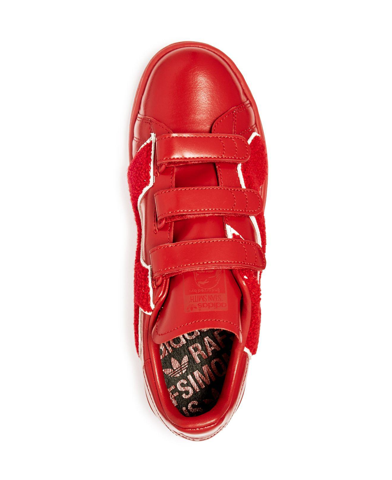 Adidas Da Raf Simons Conforto Distintivo Scarpe In Rosso Per Gli Uomini Lyst
