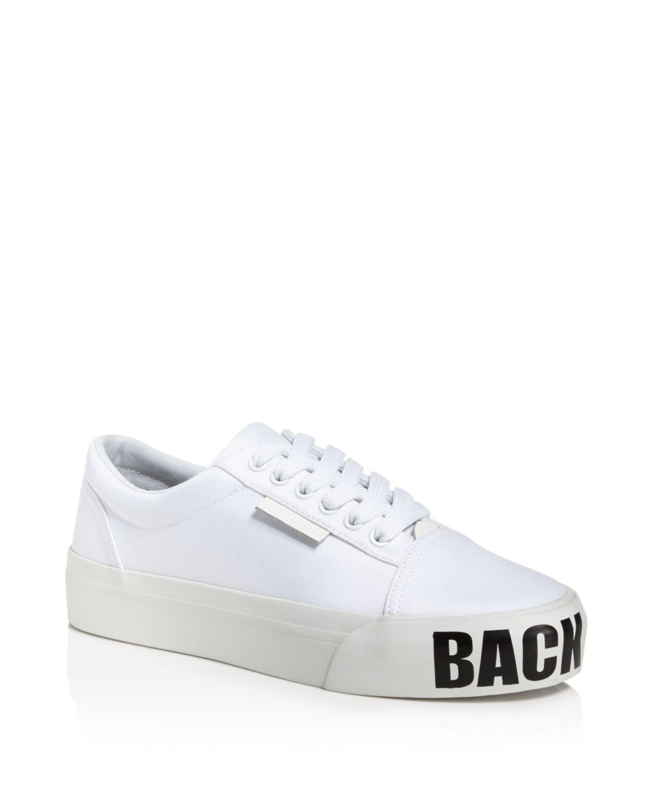 Kendall And Kylie Max Low Top Lace Up Platform Sneakers SWcXgEaN