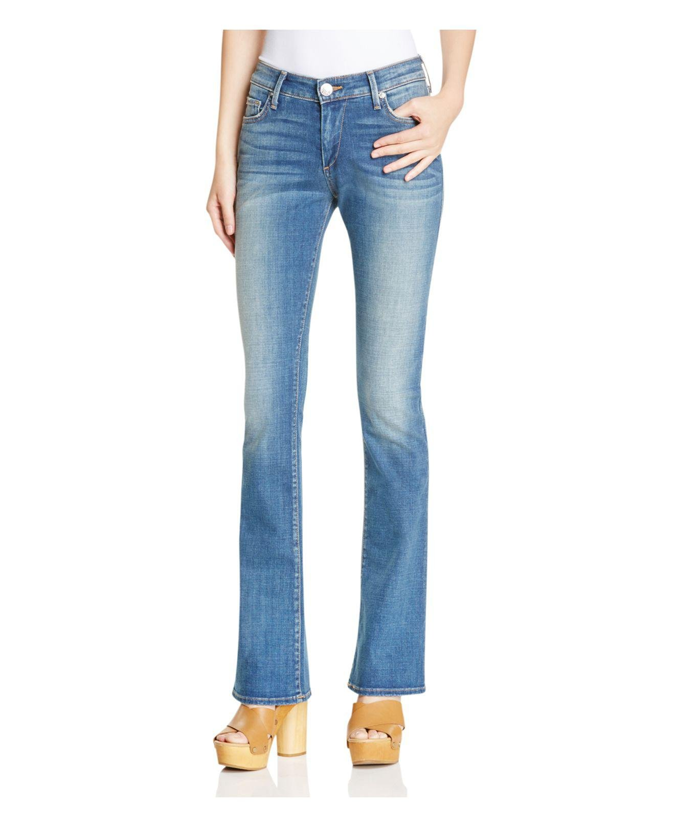 2d1dc579171 Lyst - True Religion Jennie Curvy Bootcut Jeans In Boot Rolling ...
