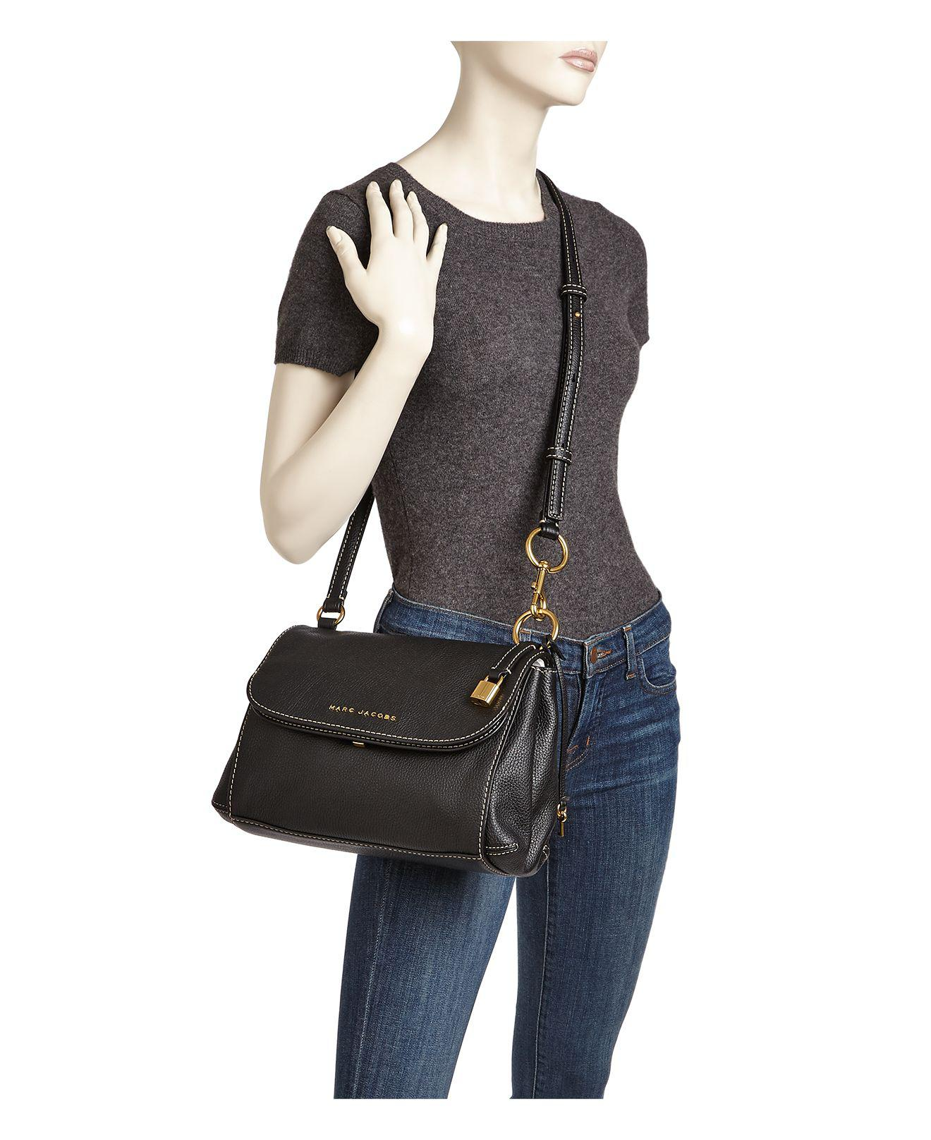 Marc Jacobs The Boho Grind Leather Crossbody in Blue - Lyst 4f5214737211c