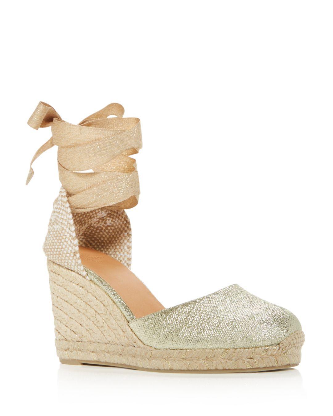 5853d632d80 Castaner Women's Carina Platform Wedge Espadrille Sandals - Lyst