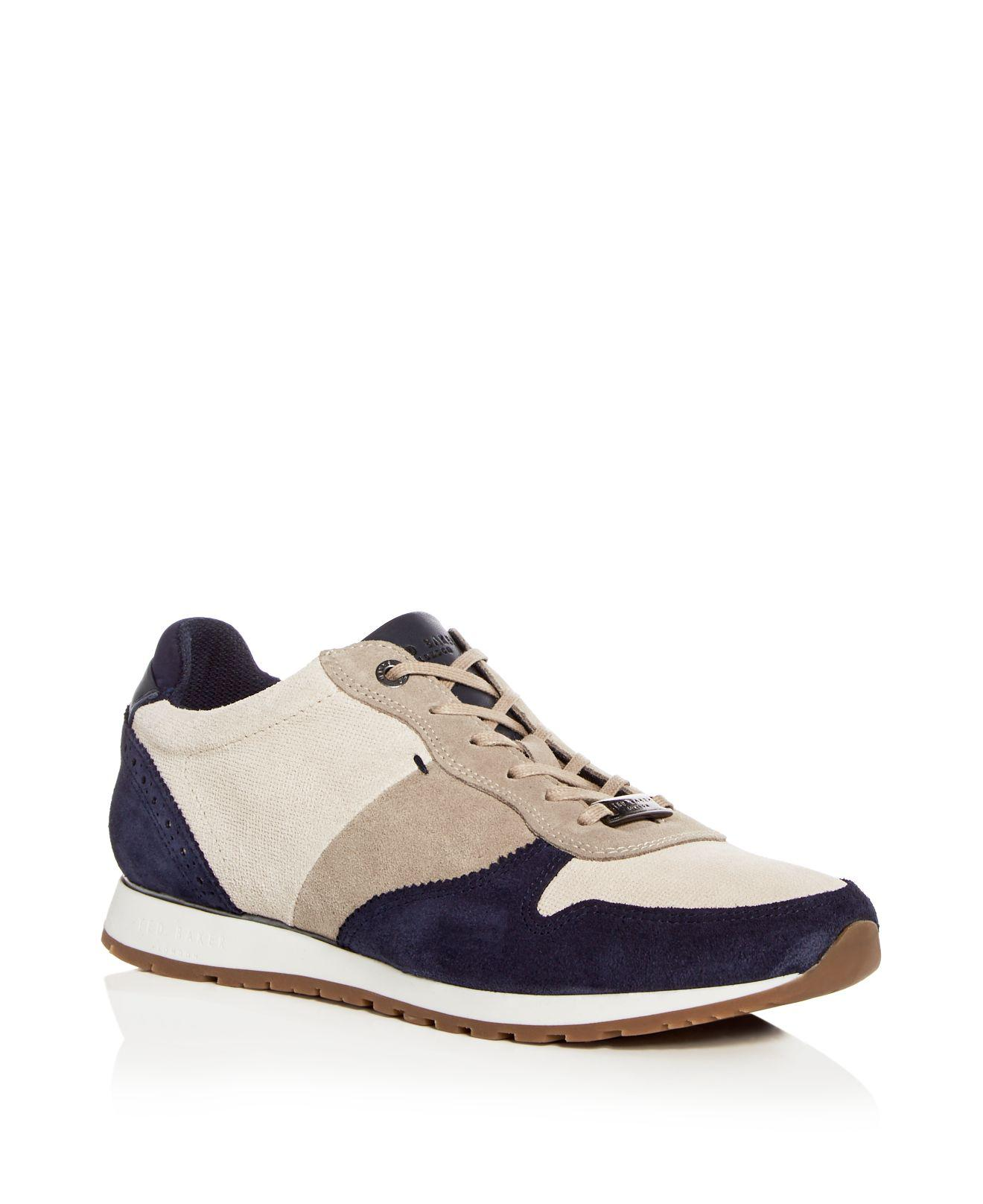 Ted Baker Men's Shindl Suede & Leather Lace Up Sneakers 8aTbiYNwV