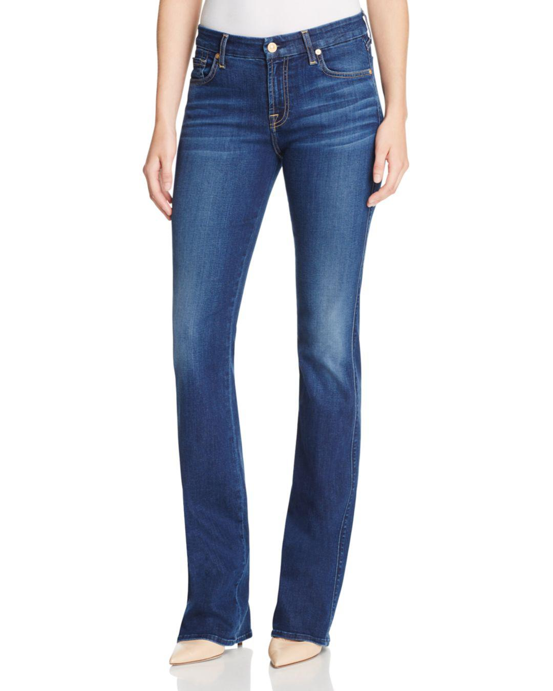 6d4214c918a5b 7 For All Mankind B(air) Kimmie Bootcut Jeans In Duchess in Blue - Lyst