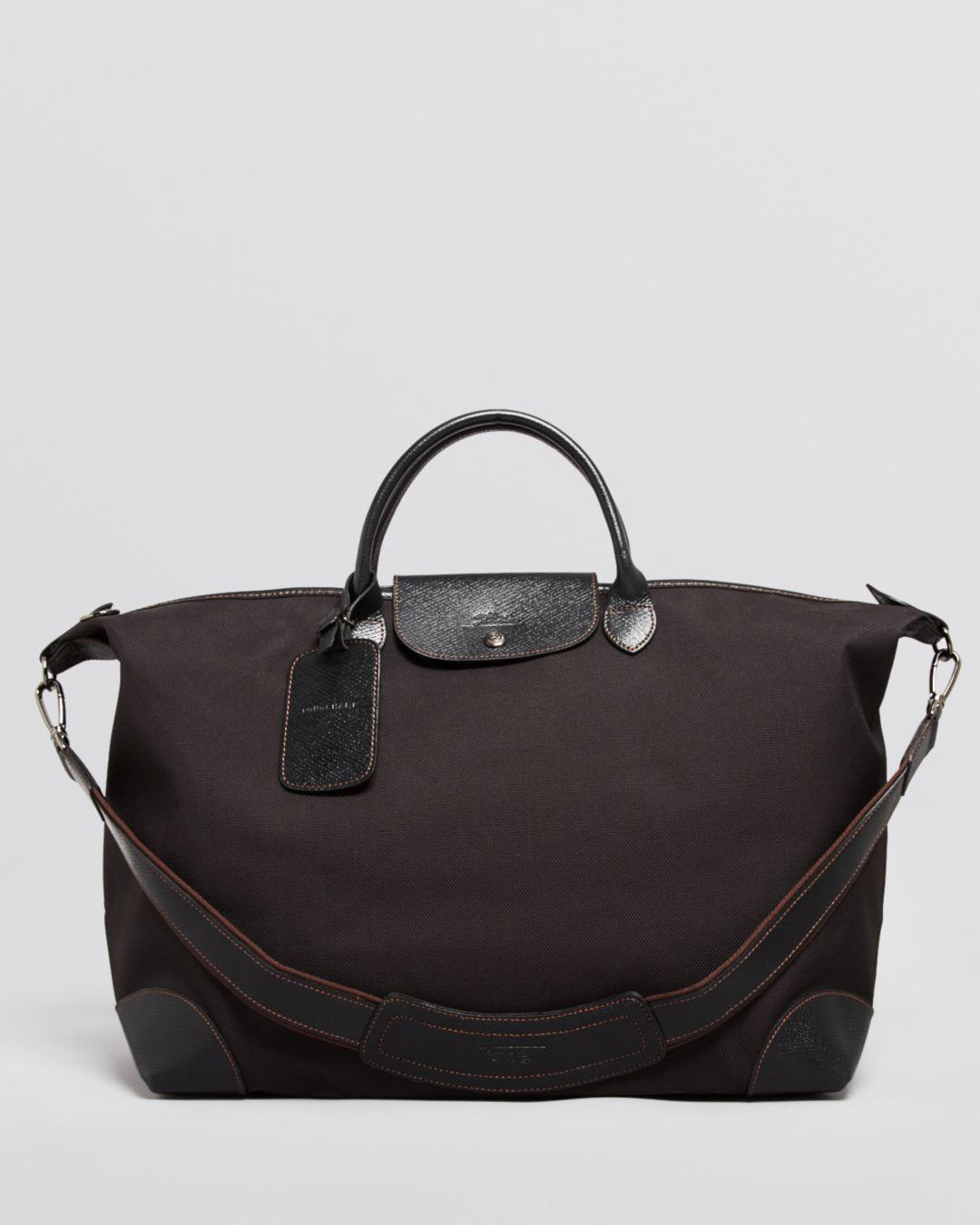 Lyst - Longchamp Boxford Large Duffel Bag in Black for Men 07a187fc8b