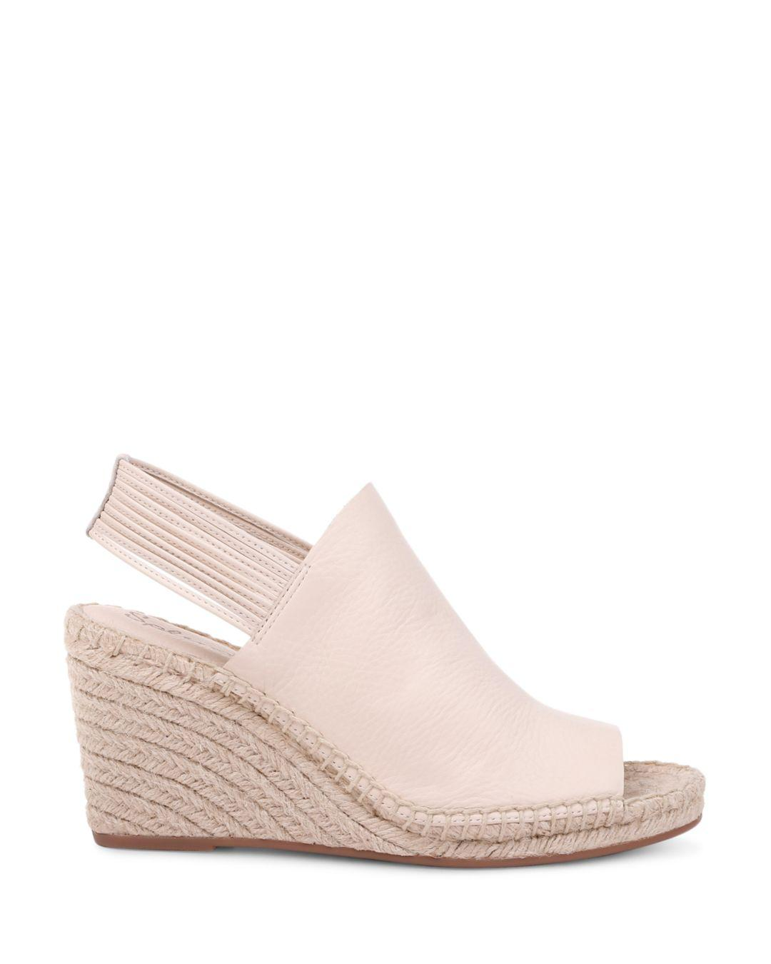 a207516026f Women's Simon Leather Espadrille Wedge Sandals