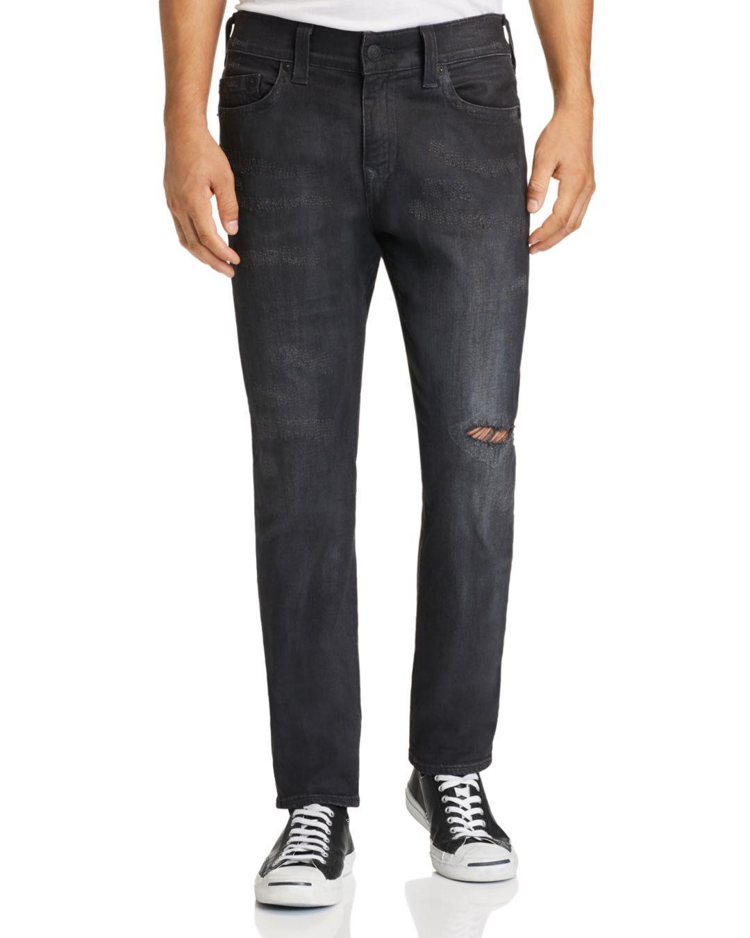 b49faa6a1869 Lyst - True Religion Rocco Slim Fit Jeans In Dark Asteroid in Blue ...