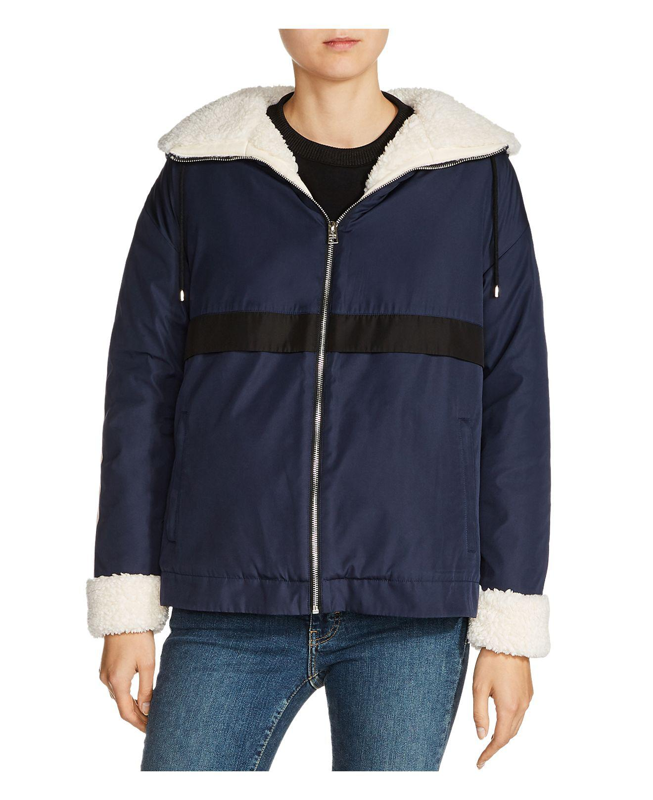 plus récent 8b571 c607f Women's Blue Boom Sherpa-lined Parka