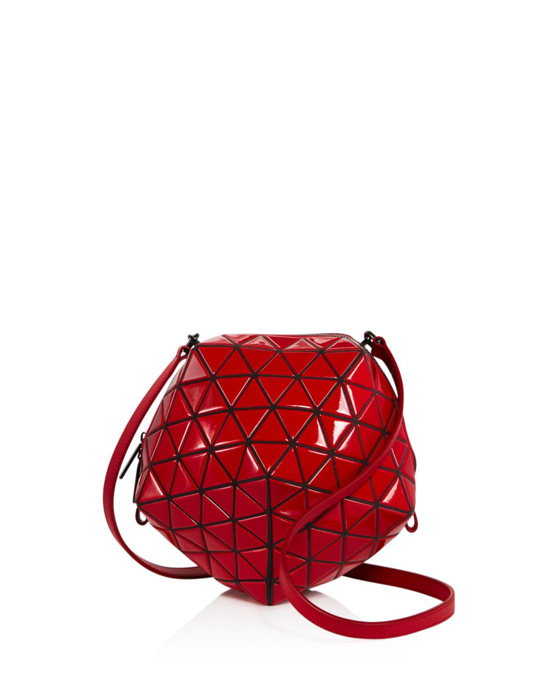 Lyst - Bao Bao Issey Miyake Small Planet Bag in Red 7f67ec4861867