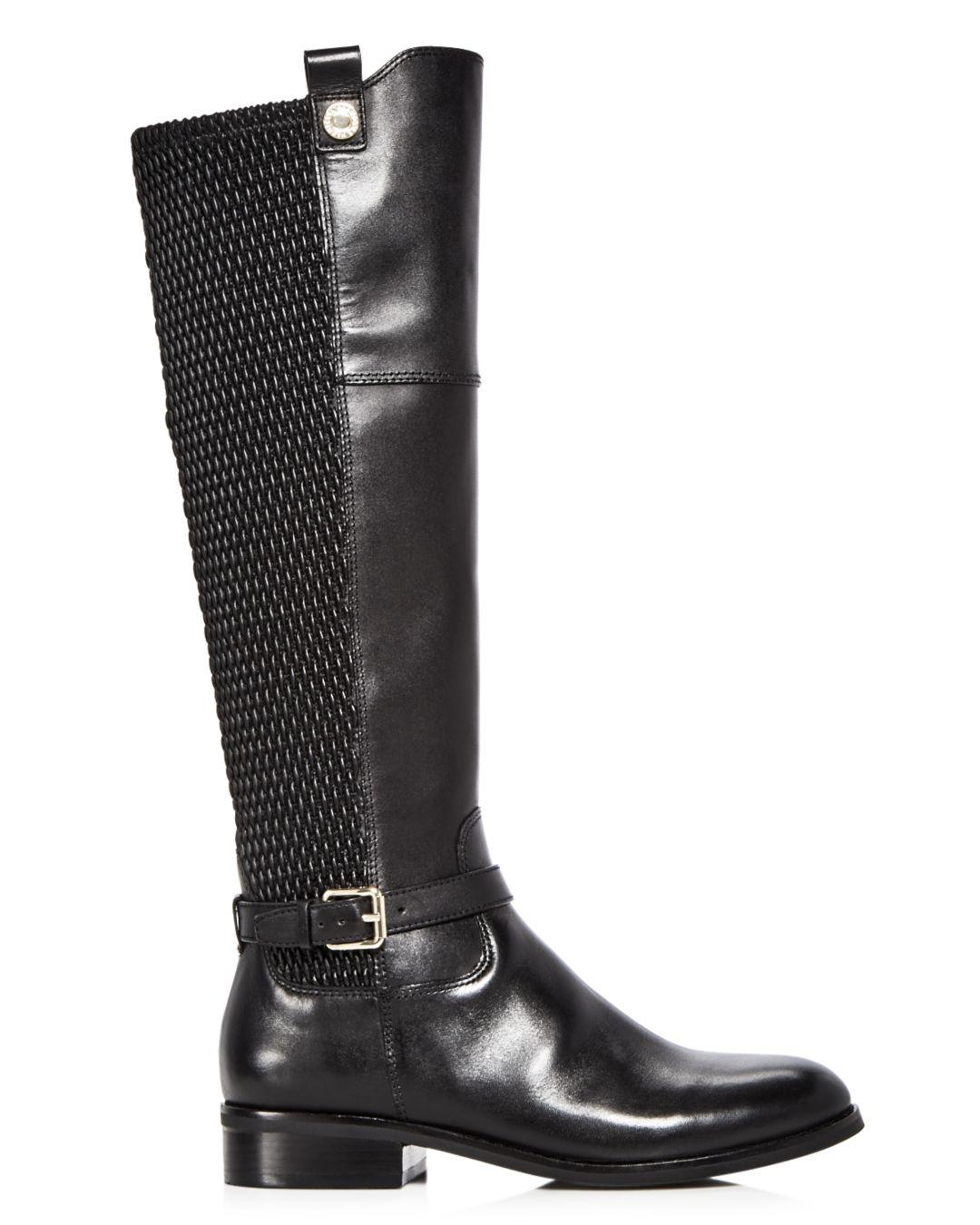 Cole Haan Women's Galina Leather Tall Boots in Black