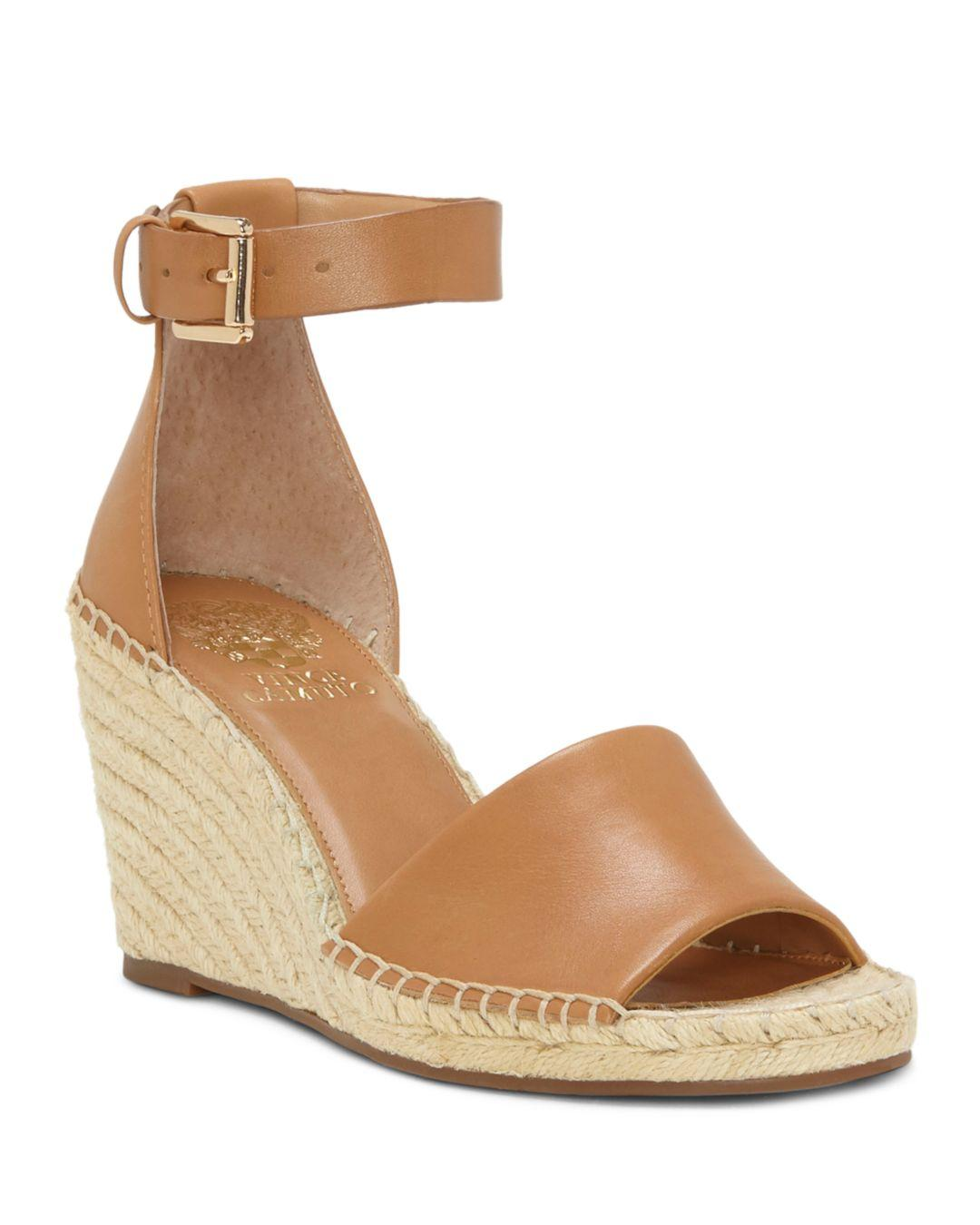 67f1ac875c2 Vince Camuto Leera Espadrille Wedge Sandals in Brown - Save 14% - Lyst