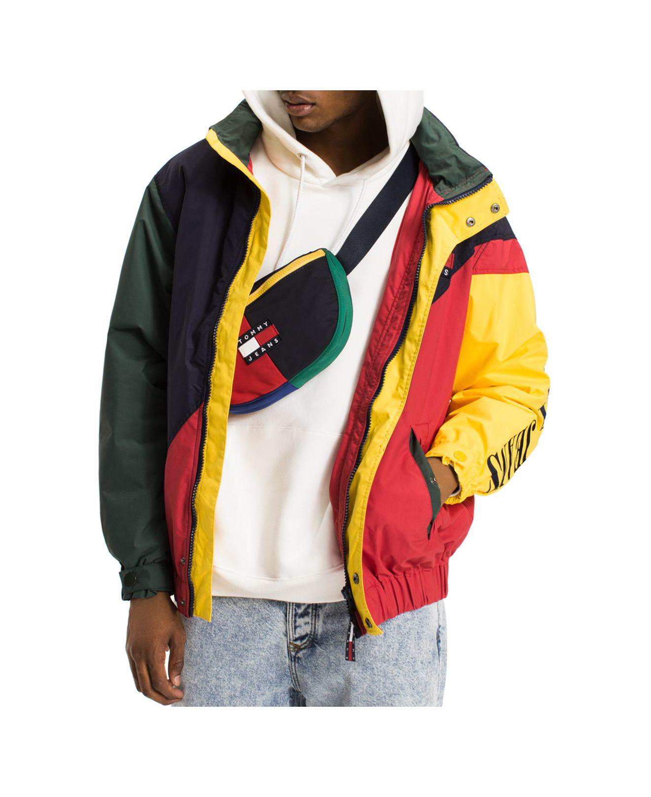 Tommy Hilfiger Tommy Jeans 90 S Color Blocked Hooded
