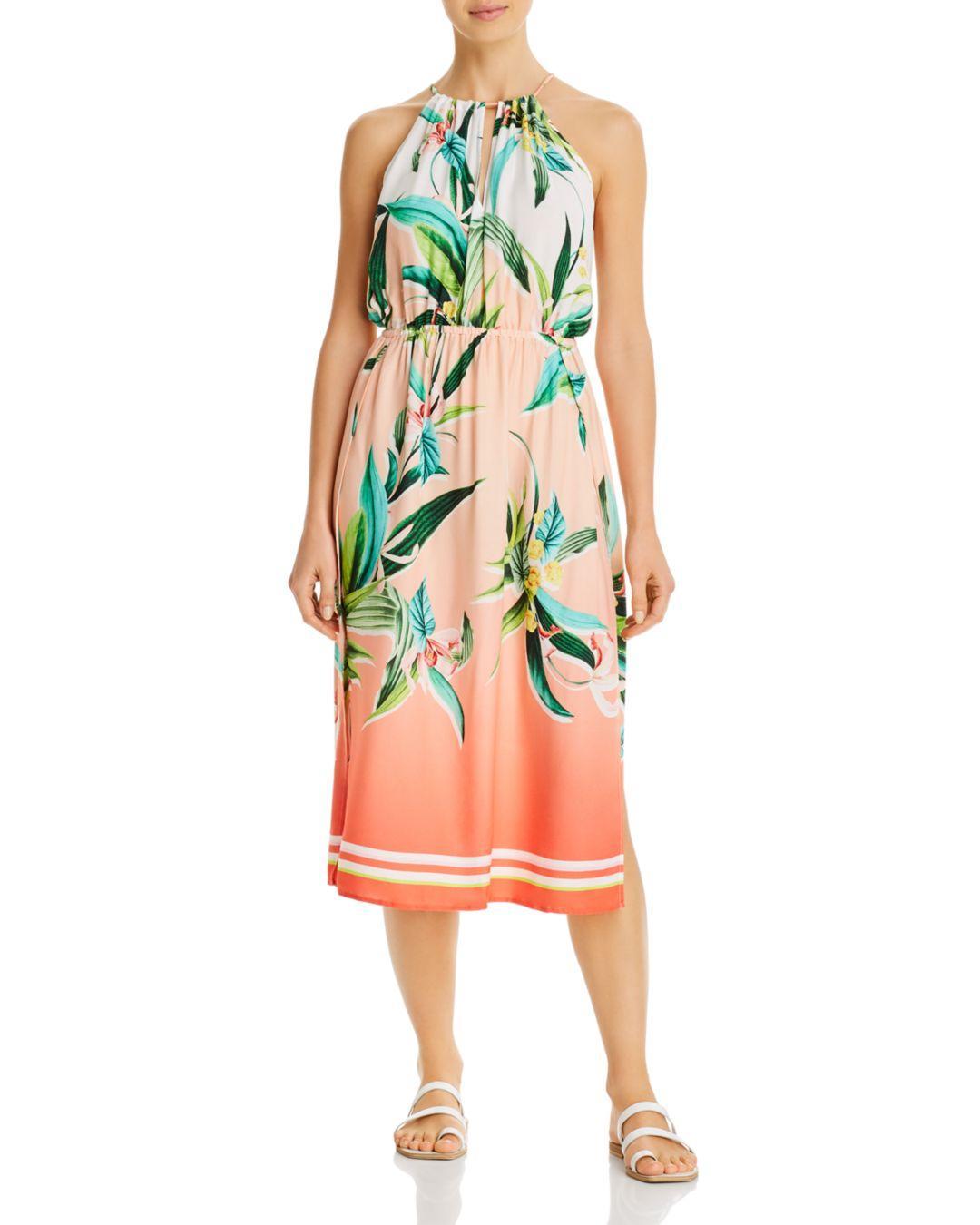 Trina Turk Costa de Prata Resort Dress CoverUp M~L $154