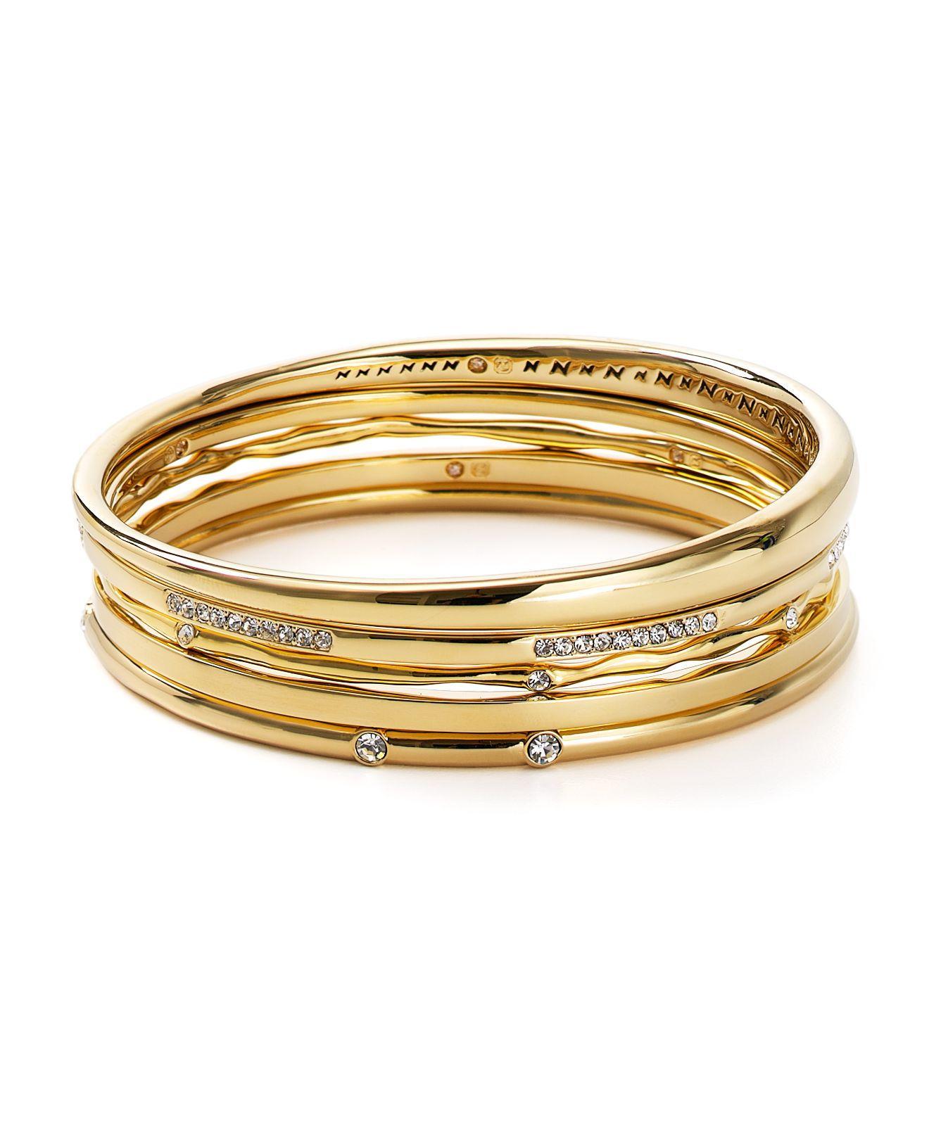 Nadri Round Bangle in Metallic