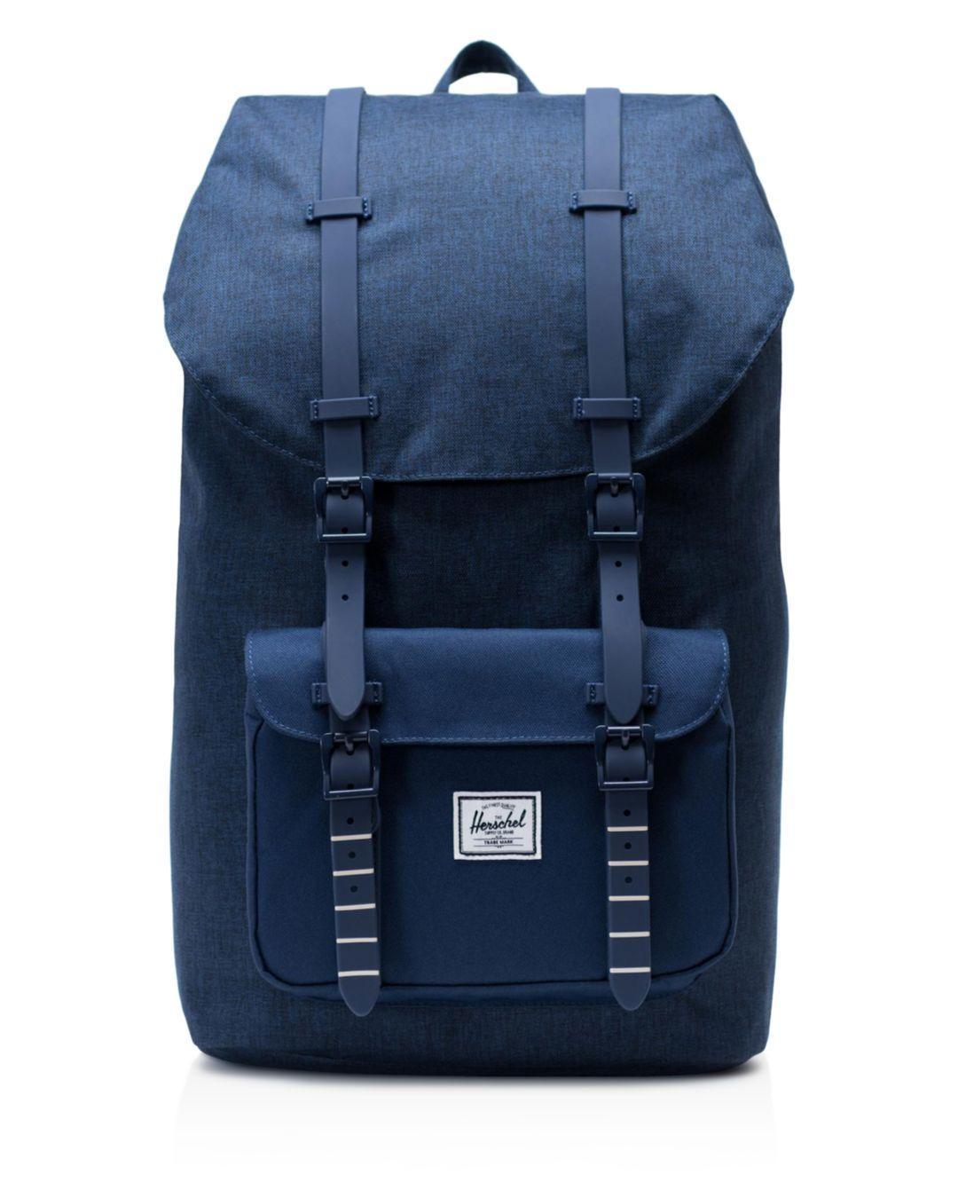 7662bc8bb4 Lyst - Herschel Supply Co. Little America Backpack in Blue for Men ...