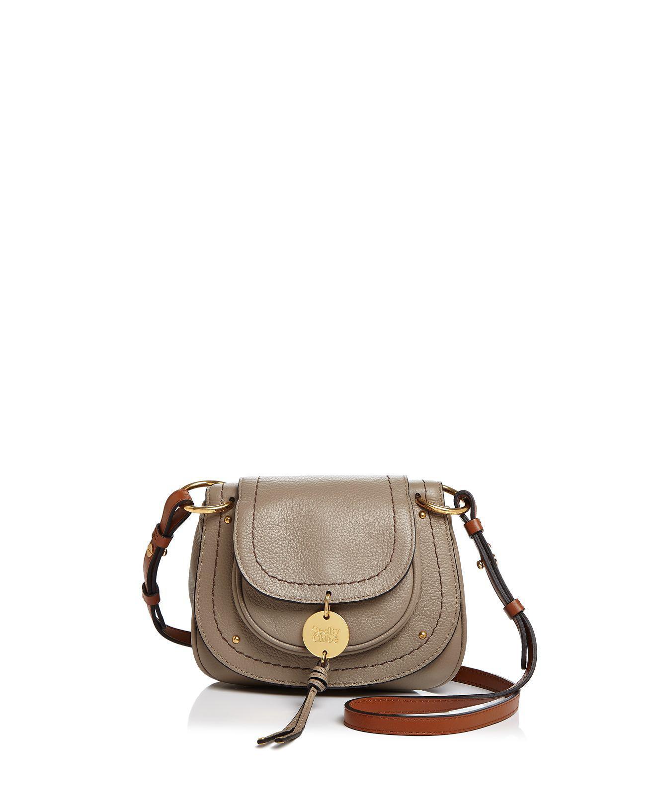 See By Chloé Susie Mini Leather Crossbody (Black) Cross Body Handbags aRjb1Ys