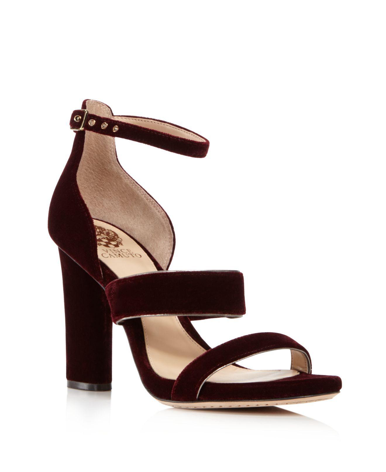 Vince Camuto Women S Velvet Robeka High Heel Sandals In