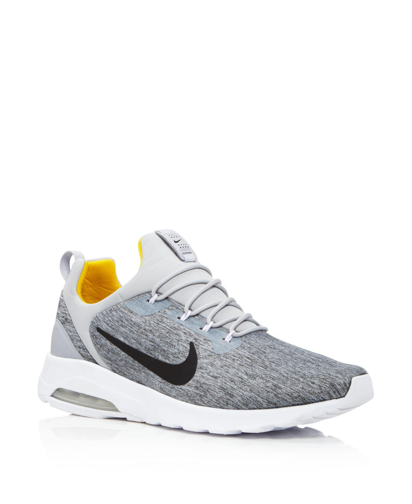 da2dfc9f1a56 Lyst - Nike Men s Air Max Motion Racer Sneakers in Gray for Men