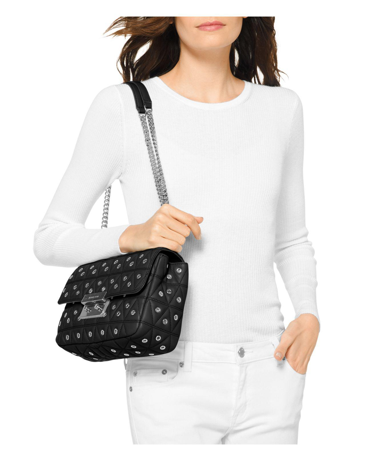 c80a5a91c0b9 Gallery. Previously sold at: Bloomingdale's · Women's Michael By Michael  Kors Sloan Women's Michael Kors Quilted Bag