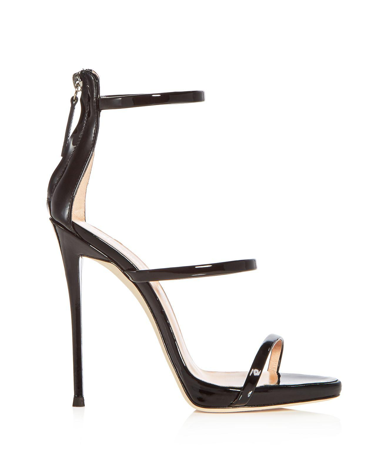 Giuseppe Zanotti Women's Vernice Patent Leather Ankle Strap High-Heel Sandals KPJpPHjlN