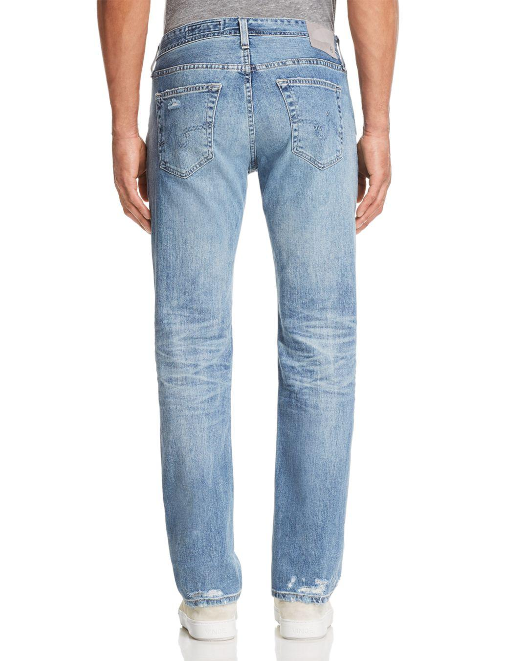 AG Jeans Denim Matchbox Slim Fit Jeans In 21 Years Blue Isle for Men