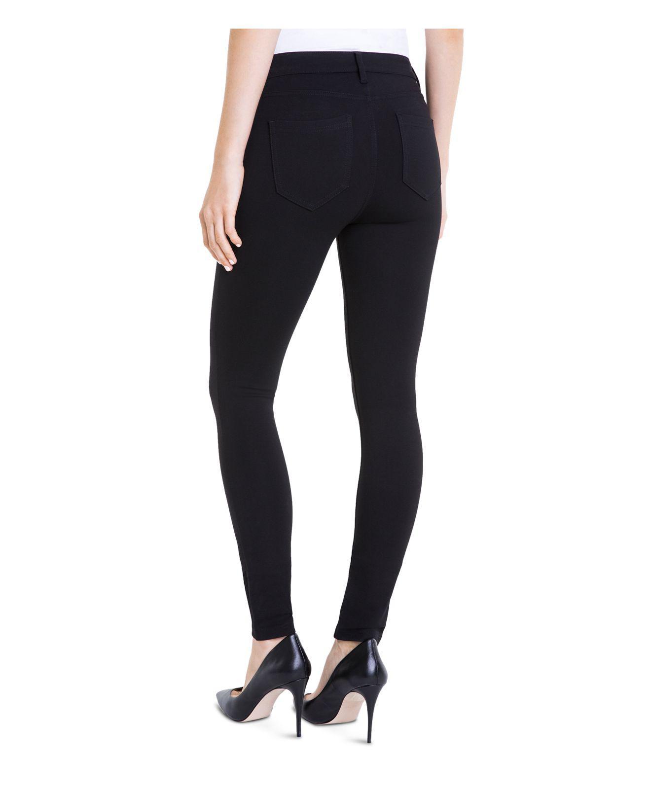 Liverpool Jeans Company Denim Madonna Skinny Legging Jeans In Black