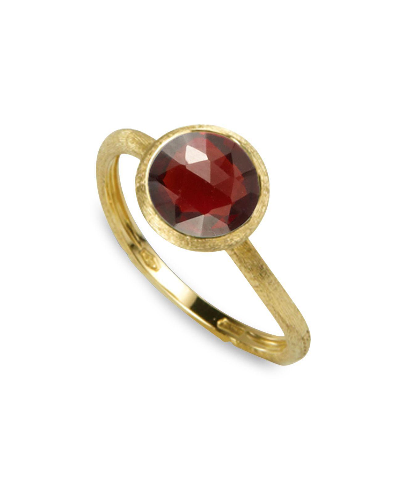 Marco Bicego Jaipur 18K Diamond Bezel Ring P9NH7T6pHW