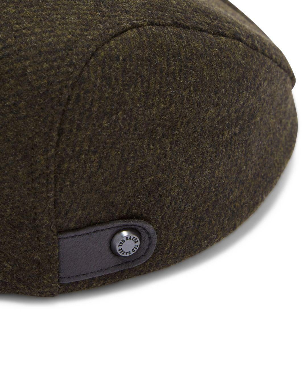 outlet boutique 03bea b0e99 Lyst - Ted Baker English Flat Cap for Men ... b8d0566531c3