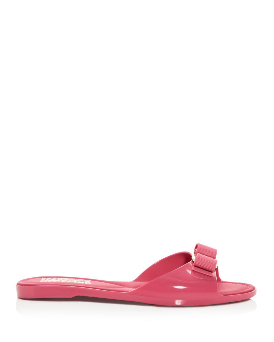 e4e49d57732c Lyst - Ferragamo Women s Cirella Slide Sandals