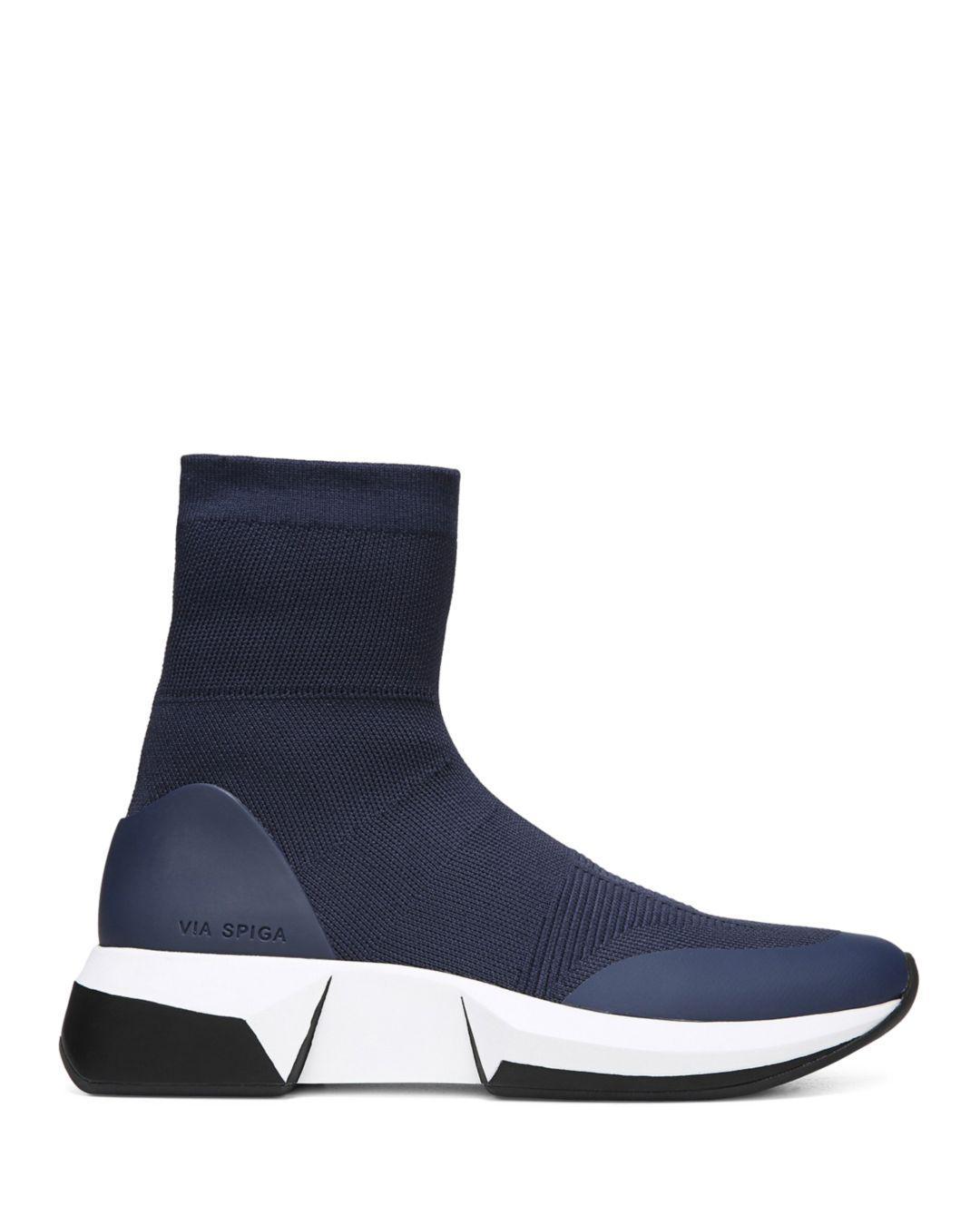 Verion Knitted Platform Sock Sneakers