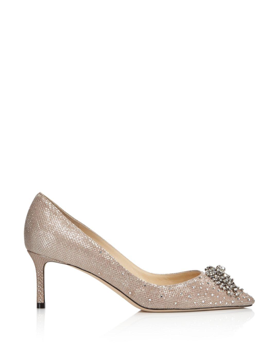 5e92c9117f32 Gallery. Previously sold at  Bloomingdale s · Women s Pointed Toe Pumps  Women s Jimmy Choo Glitter ...