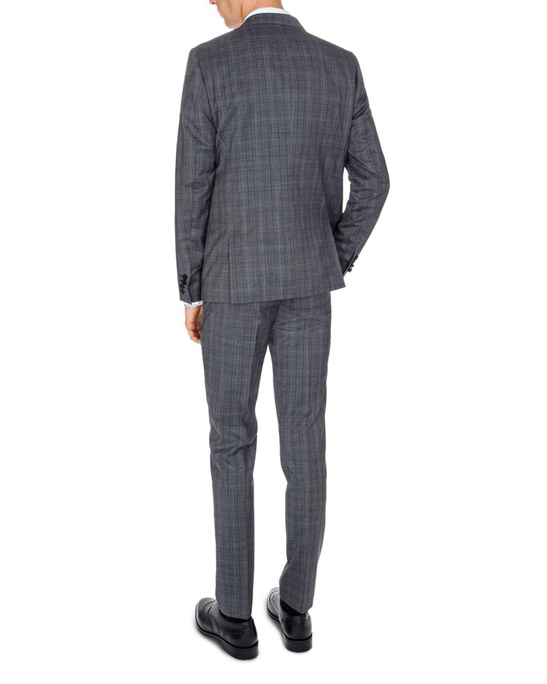 The Kooples Christmas Costume Slim Fit Trousers in Grey for Men