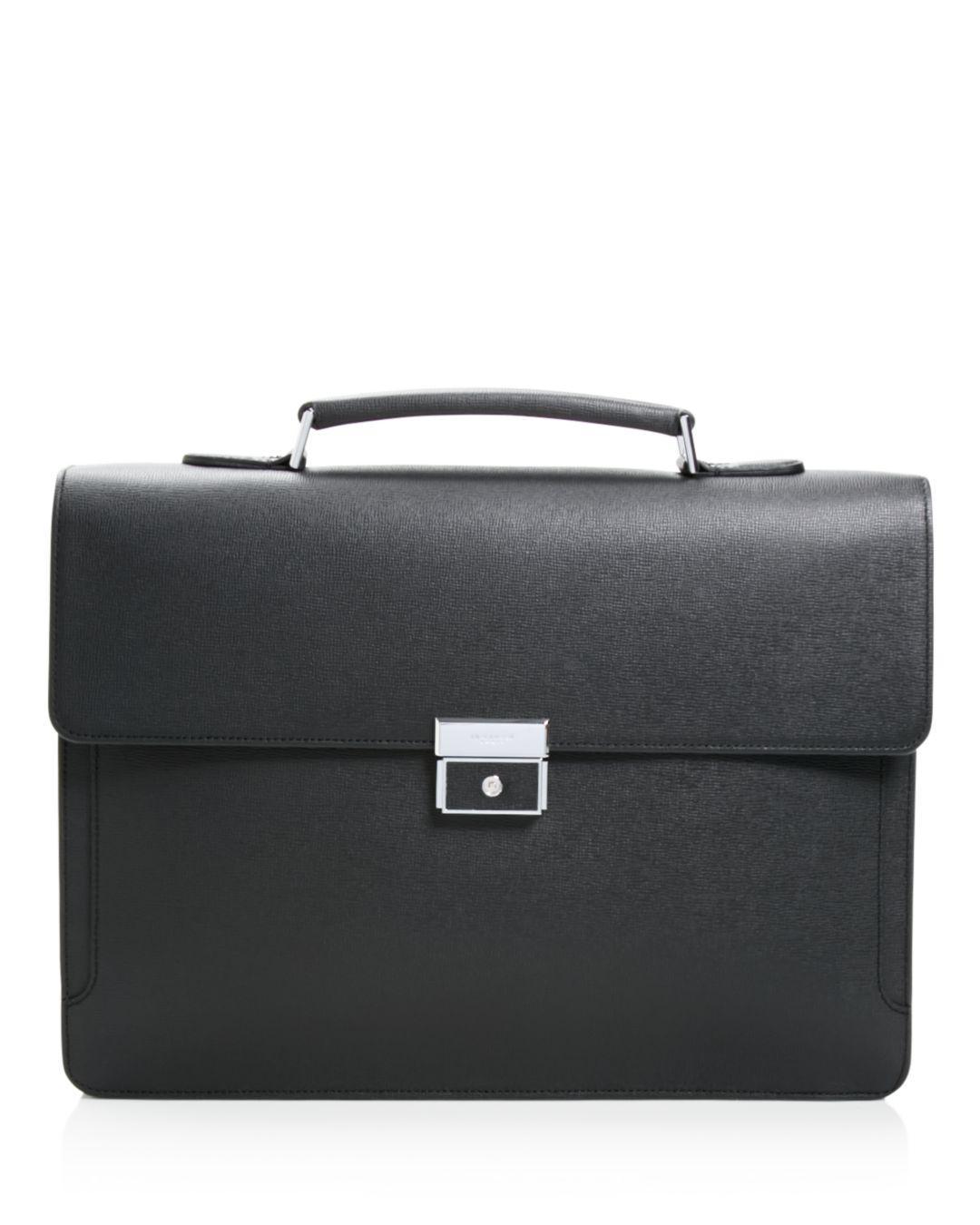 ca141dce3bd6 Lyst - Longchamp Racing Handle Briefcase in Black for Men