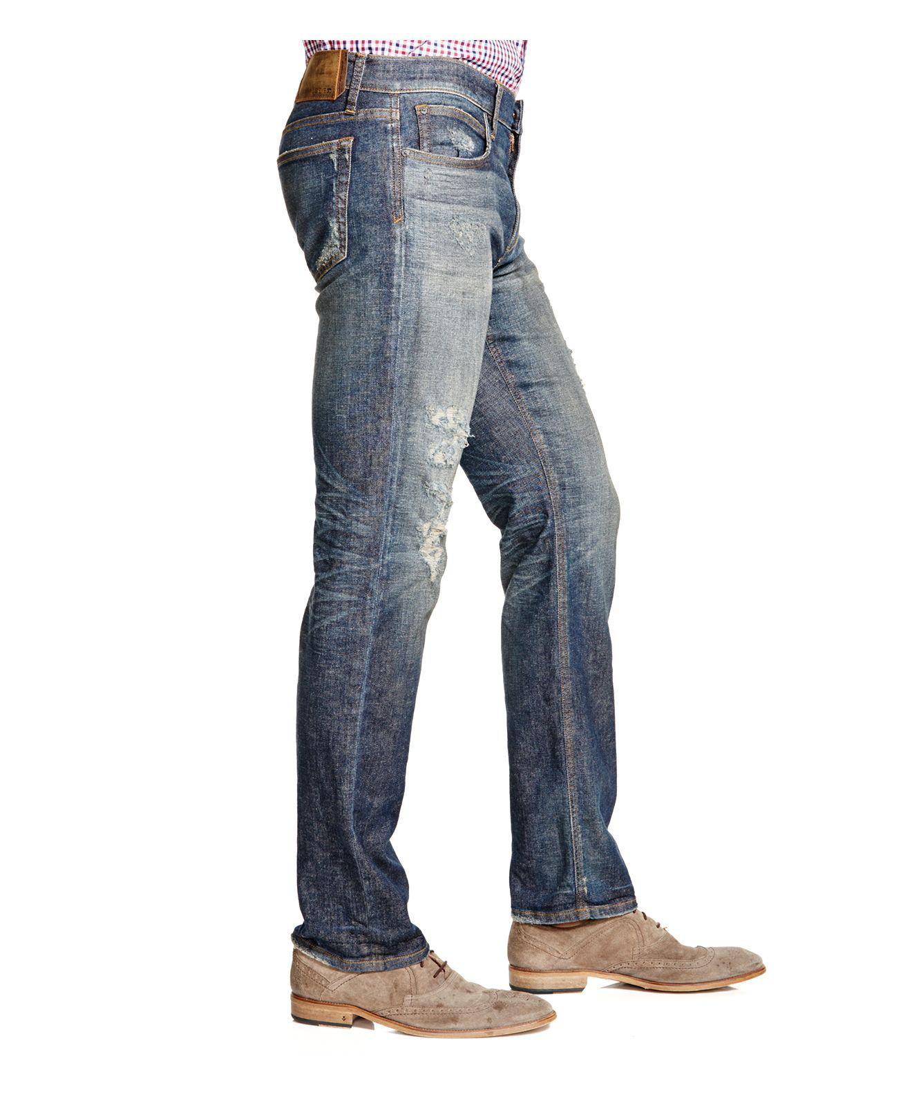 Joe's Jeans Brixton Straight Fit In Jessie in Blue